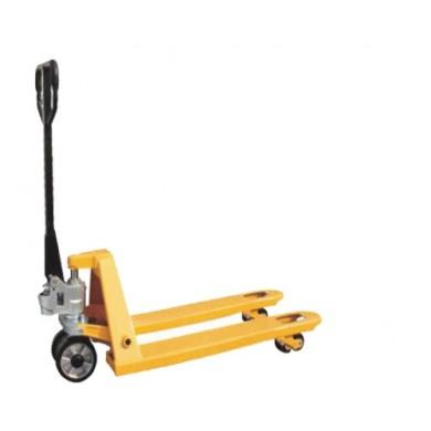 Транспалетни количка Дължина: 800 мм. Товароподемност: 2.5 Т.- 002449